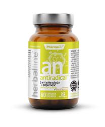 Antiradical na antyoksydację i odporność  60 kapsułek 26,82 g  (herballine)