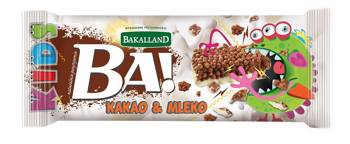 Baton BA! kakao i mleko Bakalland, 25g
