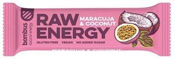 Baton RAW ENERGY marakuja-kokos BEZGL. 50 g