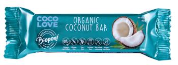 Baton kokosowy bezglutenowy BIO 40 g
