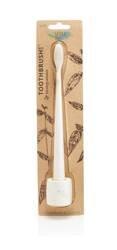 Biodegradowalna szczoteczka do zębów i stand, soft, Ivory Desert