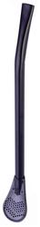 Bombilla nierdzewna czarna 15,5 cm