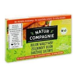 Bulion - kostki warzywne bez zawartości drożdży BIO 84 g - natur compgnie
