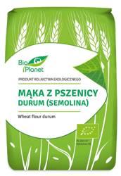 Mąka z pszenicy durum (semolina) BIO 1 kg