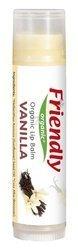 Organiczny balsam do ust, waniliowy, 4,25g