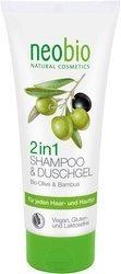Szampon i żel 2 w 1 oliwkowo - bambusowy ECO 200 ml