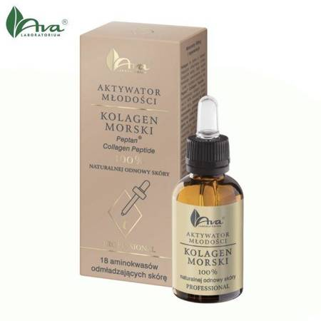 AKTYWATOR MŁODOŚCI KOLAGEN MORSKI  Peptan® Collage Peptide  100% naturalnej odnowy skóry - AVA