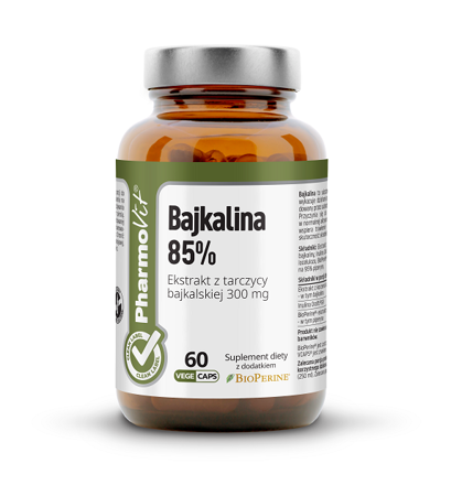 Bajkalina 60 kapsułek 33,18 g  (clean label)