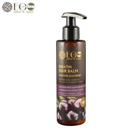 Balsam keratynowy do włosów - amazońska acai, naturalny kompleks kerapeptydowy BIO KERATIN 200ml