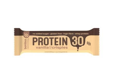 Baton Protein 30% wanilia-chrupki BEZGL. 50 g