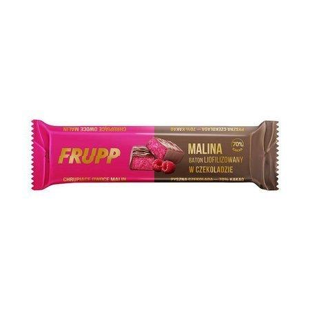 Baton liofilizowany malina w czekoladzie 20 g