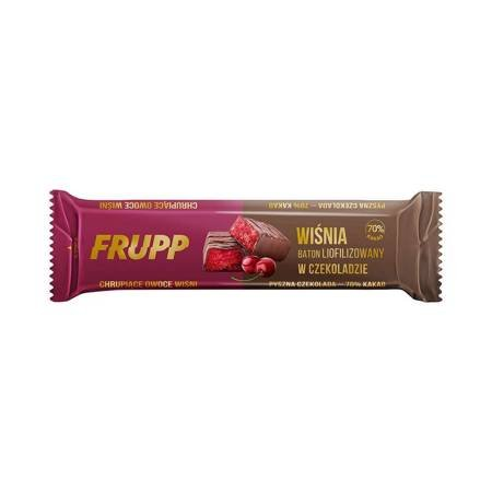Baton liofilizowany wiśnia w czekoladzie 20 g