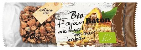 Baton orkiszowo - owsiany z kakao BIO 40 g
