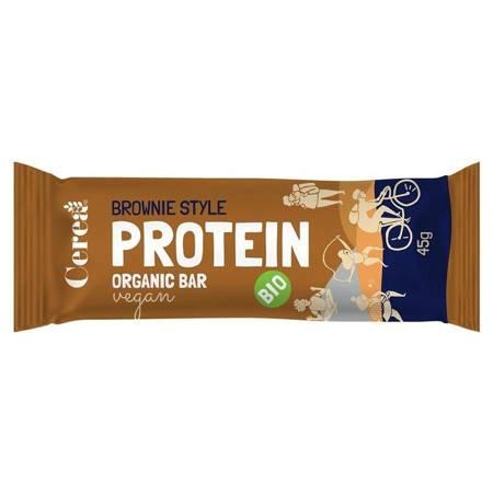 Baton proteinowy Brownie Style BIO 45g