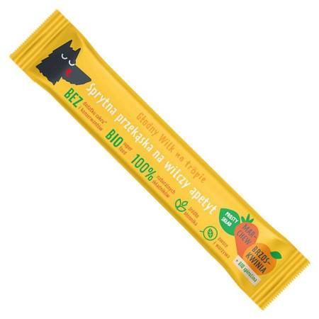 Batonik marchew-brzoskwinia ze spiruliną Głodny Wi