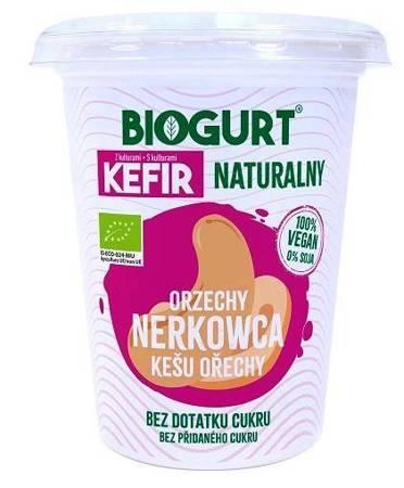 Biogurt- wegańska, fermentowana alternatywa kefiru z orzechów nerkowca B/C BIO 400 g