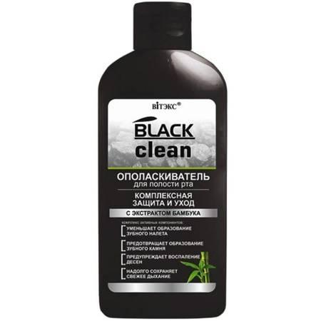 Black Clean - Płyn do płukania ust Kompleksowa ochrona i pielęgnacja, 285 ml