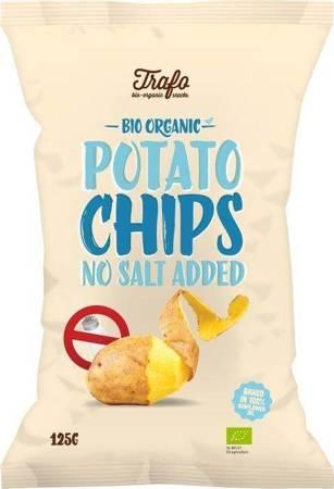 Chipsy ziemniaczane naturalne bez dodatku soli BIO 125 g