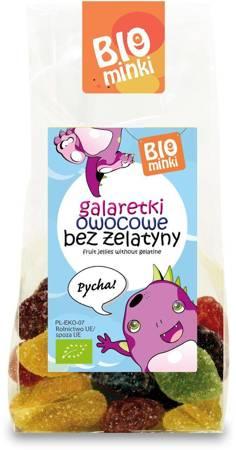 Galaretki owocowe bez żelatyny BIO 100 g