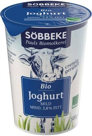 Jogurt naturalny (3,8 % tłuszczu w mleku) BIO 500 g