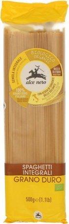Makaron (semolinowy razowy) spaghetti BIO 500 g