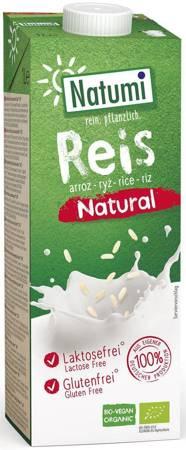 Napój ryżowy bez dodatku cukrów bezglutenowy BIO 1 l
