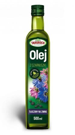 Olej z Czarnuszki - Tłoczony Na Zimno 500 ml