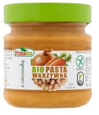 Pasta warzywna z cieciorką bezglutenowa BIO 160 g