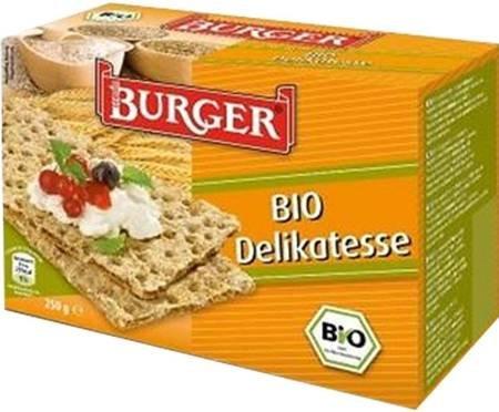 Pieczywo chrupkie żytnie razowe BIO 250 g