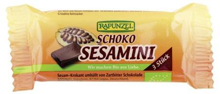 Sezamki w czekoladzie BIO 27 g