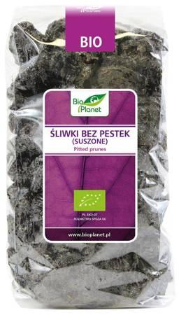 Śliwki bez pestek suszone BIO 1 kg