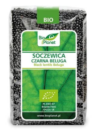 Soczewica czarna beluga BIO 500 g
