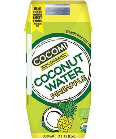 Woda kokosowa o smaku ananasa BIO 330 ml